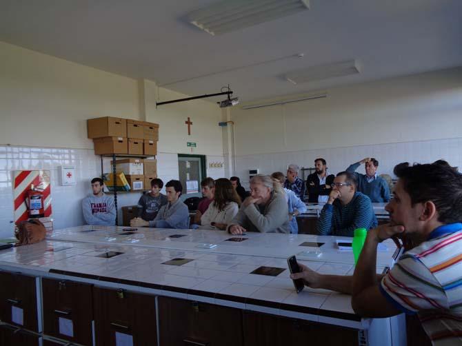 Numerosa concurrencia a reunión de docentes de la sede de Esperanza de la UNL