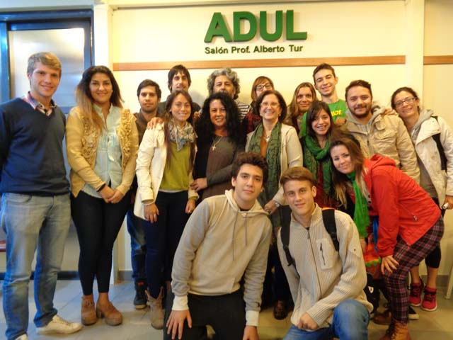 Reunión de ADUL con la FUL y los Centros de estudiantes
