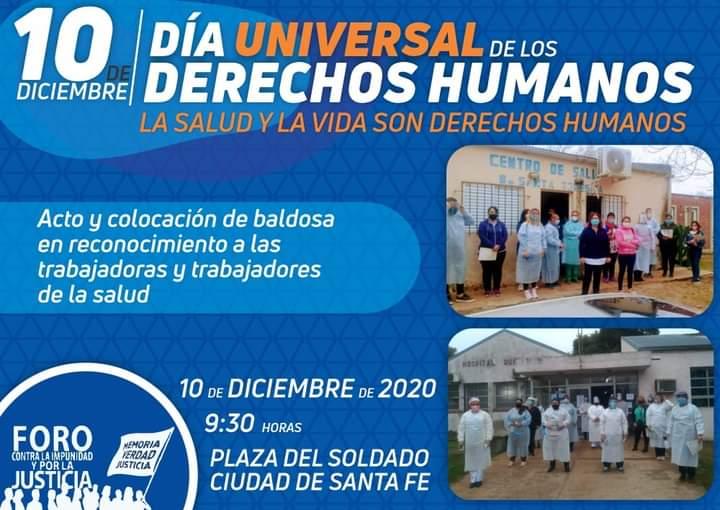 Acto por el Día Universal de los Derechos Humanos