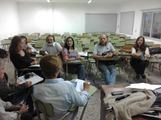 Importante encuentro entre los y las docentes de Trabajo Social y ADUL
