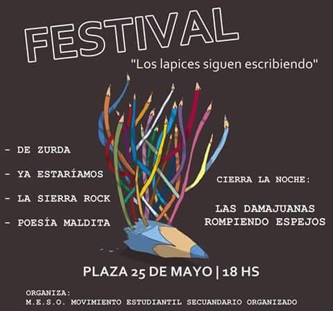 Festival de Bandas. Los Lápices siguen escribiendo