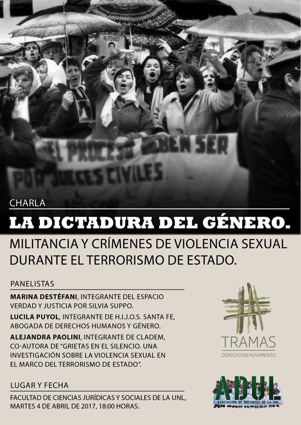 Charla: «La Dictadura del Género»