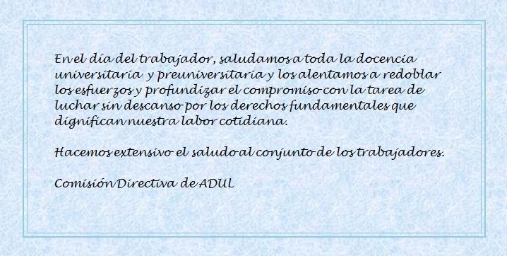 Día Internacional del Trabajador