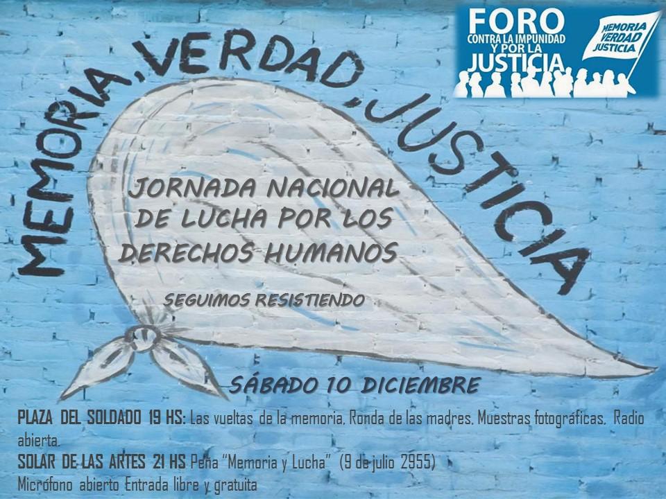 Jornada Nacional de Lucha por los Derechos Humanos