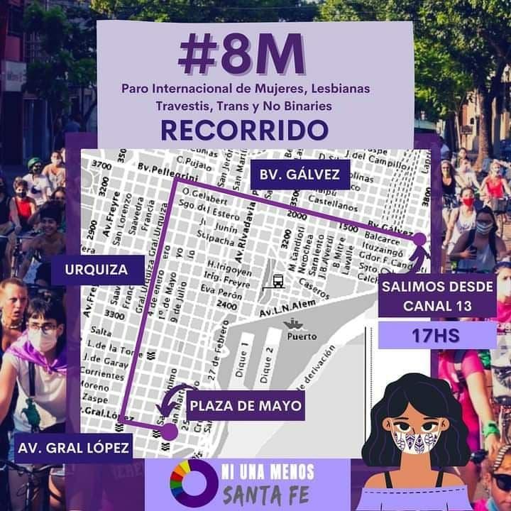 Este 8M tomamos las calles