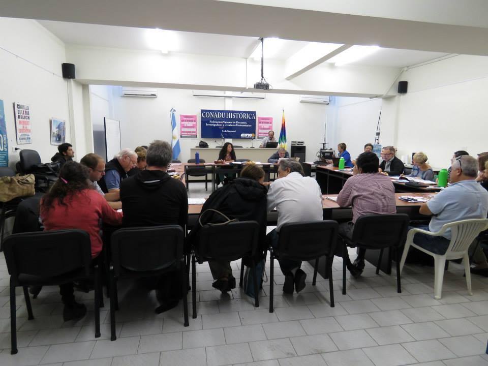 Resoluciones del Consejo Directivo de  CONADU Histórica-CTA