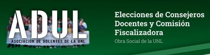 Elecciones en OSUNL – 14/4/21
