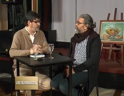 Oscar Vallejos, Secretario Adjunto de ADUL, en Los Olvidados TV